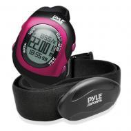 Pyle Sport PSBTHR70PN Bluetooth Fitness Heart Rate Monitoring Watch Pink Color w/ Power Save Mode