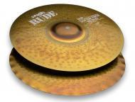 Paiste Rude Series 14-Inch Sound Edge Hi-Hat Cymbals with Pronounced Stick Sound (1123114)