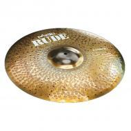 Paiste Rude Series 20-Inch Basher Crash Cymbal with Long Sustain & Lively Intensity (1125420)