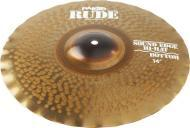 Paiste Rude Series 14-Inch Sound Edge Bottom Hi-Hat Cymbal with Raw & Full Sound Character (1...