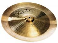 Paiste Signature Precision Series 18 Inch China Cymbal with Medium Sustain & Lively Intensity...
