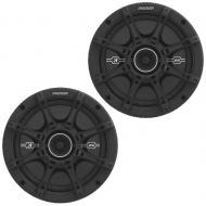 "Kicker DSC4 4"" Speakers 4-Ohm Acoustic-Foam Surround D-Series Coaxial (41DSC44)"