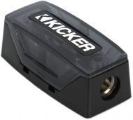 Kicker FHS AFS Fuse Holder Brass Construction w/ One 1/0-8 Gauge Input & Output