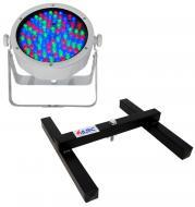 Chauvet DJ Lighting SlimPar 56 (White) Slim Par Can 7CH DMX LED RGB Color Light with Uplighting F...