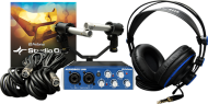 PreSonus AudioBox Stereo Recording Kit with Studio One Artist 2 Software and 48V Phantom Power
