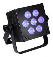 Blizzard HotBox RGBA 4-in-1 Color Mixing LED Lighting Fixture with 4-Button Control Panel