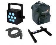 Blizzard DJ Pro Lighting Hotbox RGBW Par Can 7 x 10 watt LED RGBW Stage Wash Light with DMX Cable...