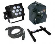 Blizzard DJ Pro Lighting Hotbox Infiniwhite Par Can 7 x 15 watt LED Cool to Warm White Wash Light...