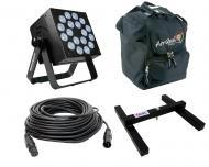 Blizzard DJ Pro Lighting Rokbox Infiniwhite Par Can 18 x 15 Watt LED RGBW Cool to Warm White Wash...