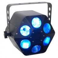 American DJ QUAD PHASE HP 32-Watt Quad LED Moonflower Light Fixture (QUA034) - Limited Quanities!