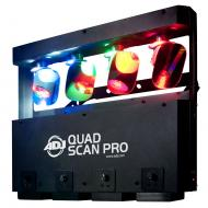 American DJ QUAD SCAN PRO 4x10W RGBW LED Fixture with Hanging Bracket (QUA313) - Limited Quanities!