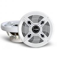 Bazooka MAC8100W 8-Inch 2-Way Marine Coaxial Speaker System 150W - White Painted Finish