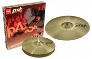 "Paiste PST 3 Essential Cymbal Set with 18"" Crash Ride & 14"" Hi-Hat Pair (063ES14)"