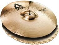 Paiste Alpha Brilliant 14 Inch Medium Bottom Hat Cymbal with Smooth & Compact Stick Sound (88...