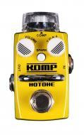 Hotone Skyline KOMP Optical Compressor Guitar Stompbox with Dual Noctilucent Small Knobs (TPSCS1)