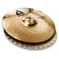 Paiste 14 Inch Alpha Brilliant Metal Edge Bottom Hat Cymbal with Tight & Glassy Chick Sound (...
