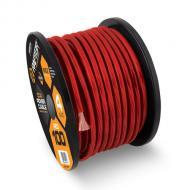 Raptor R31-0-20R Vice Series 1/0 Gauge Red Power Cable with 20 Feet Length & Copper Clad Alum...
