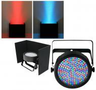 Chauvet DJ Lighting Slimpar 64 Compact Low Profile RGB LED Uplighting Wash with Black Up Light Co...