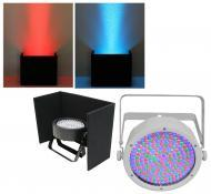 Chauvet DJ Lighting EZpar64 RGBA White LED Battery Powered Uplighting Wash Light with Black Up Li...
