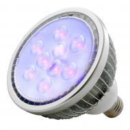 American DJ BLB18W 18-Watt Ultraviolet LED Black Light Par38 Bulb with E27 Edison Base