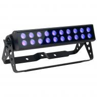 American DJ UV LED BAR20 Ultraviolet Bar Fixture with Included Wireless Remote Control
