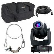 American DJ Inno Spot Elite Moving Head Gobo Color Light with Travel Bag, Clamp & Cables