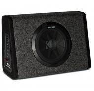 "Kicker Refurbished PT250 Car Audio Powered 250 Watt Single 10"" Universal Regular Cab Sub Box"