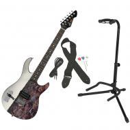 Peavey The Walking Dead Cover 100 Rockmaster Electric Guitar w/ Instrument Stand