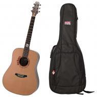 Peavey Jack Daniel's JD-AG2 Classic Barrel Acoustic Guitar w/ Instrument Gig Bag