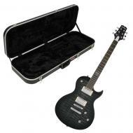 Peavey Jack Daniel's Old No 7 Electric Guitar - Charcoal with Rectangular Case