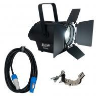 Elation DW Fresnel 250-Watt Floor Par Fixture w/ Pro Clamp & 10ft Powercon Cable