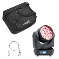 American DJ Inno Color Beam Z19 RGBW Osram LED Moving Head w/ Bag & Safety Cable
