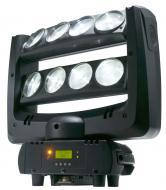 American DJ CRAZY 8 Moving Head Fixture with 8 Beam Effect 8 x 10 Watt White LED - Limited Quanit...