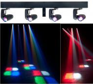American DJ EVENT BAR Q4 4-Head 4-in-1 QUAD CREE LED Pinspot Fixture (EVE565) - Limited Quanities!
