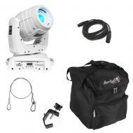 Chauvet White Intimidator Beam LED 350 Moving Head w/ Bag, DMX Cable & Clamp