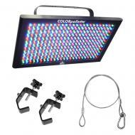 Chauvet LED-PALET COLORpalatte Lighting Fixture Package w/ Safety Cable & Clamp