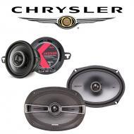 Chrysler New Yorker 1994-1996 Factory Speaker Upgrade Kicker KSC35 KSC69 New