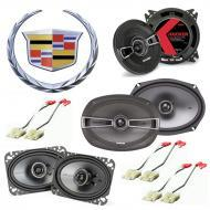 Cadillac Seville 1984-1991 Factory Speaker Upgrade Kicker KS Series Package New