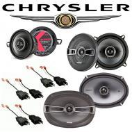 Chrysler New Yorker 1984-1993 Factory Speaker Replacement Kicker KS Package New