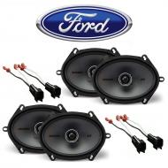 Ford Expedition 1999-2014 Factory Speaker Upgrade Kicker (2) KSC68 Package New