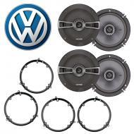 Volkswagen Golf 1999-2014 Factory Speaker Upgrade Kicker (2) KSC65 Package New
