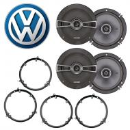 Volkswagen GTI 1999-2014 Factory Speaker Upgrade Kicker (2) KSC65 Package New