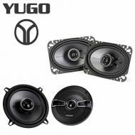 Yugo GV/GVX 1986-1990 Factory Speaker Replacement Kicker KSC5 KSC46 Package New