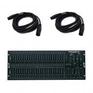 American DJ SCENE SETTER-48 48 Channel DMX Dimming Console with 15-Feet Cable