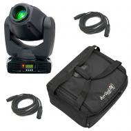 American DJ INNO SPOT PRO 80W LED Moving Head with Soft Case & (2) 15' DMX Cable