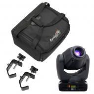 American DJ INNO SPOT PRO 80W LED Moving Head w/ Soft Case & (2) Truss C Clamp