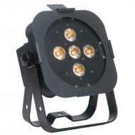 American DJ FLAT PAR TW5 25-Watt Dynamic TRI White LED Par Fixture with 7 DMX Modes - Limited Qua...