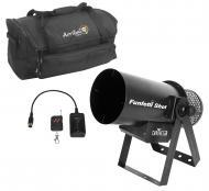 Chauvet DJ Funfetti Shot Wireless Remote Confetti Air Launcher with Travel Bag
