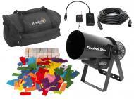 Chauvet DJ Funfetti Shot Wireless Remote Confetti Launcher Color Refill & Bag