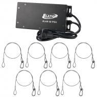 Elation Lighting Elar Q1 PSU 24-Volt DC Power Supply Unit with 7 Safety Cables